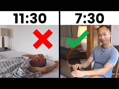 Cómo Despertar Temprano Sin Sentirte Cansado Todo El Día