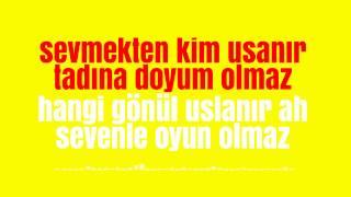Sevmekten Kim Usanır-Karaoke Versiyon