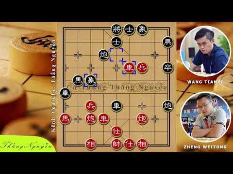 Chinese Chess Zheng WeiTong Vs Wang TianYi