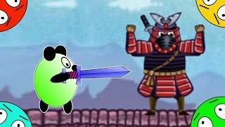 🐾 Четыре панды #8! Битва из Ниндзя! Мультик Игра. Новый мультик для Японию.