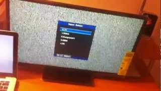 Orion 24in HDTV/Monitor 720p review and hook up