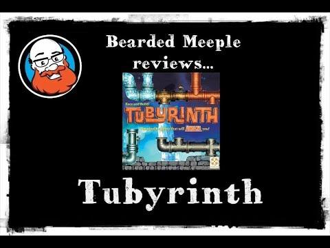 Bearded Meeple reviews : Tubyrinth