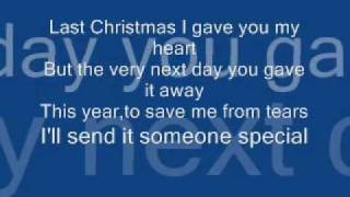 The Cheetah Girls-Last Christmas(lyrics)