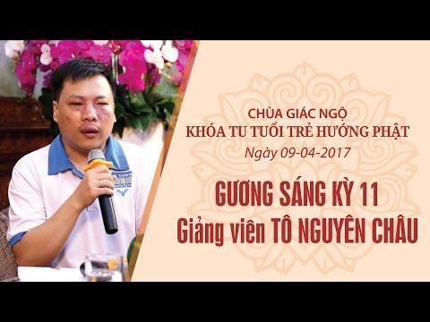 Gương Sáng 11: Giảng viên Tô Nguyên Châu