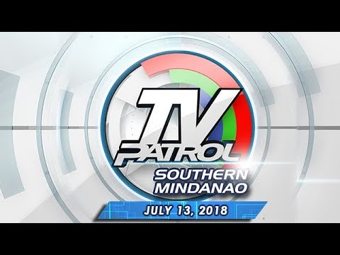 [ABS-CBN]  TV Patrol Southern Mindanao – July 13, 2018