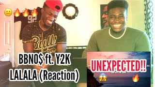 UNEXPECTED!! BBNO$ Ft. Y2K  LALALA (Reaction)