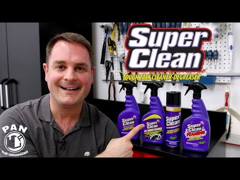 SUPER CLEAN : THE BEST CLEANER AND DEGREASER !!  (+ GIVEAWAY !!)