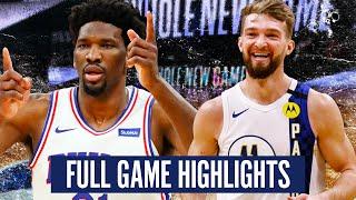 INDIANA PACERS vs PHILADELPHIA 76ERS - FULL GAME HIGHLIGHTS | 2019-20 NBA Season