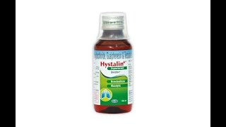 buy Hystalin expectorant for cough and cold|Hystalin syrup uses side effects and full revie in hindi