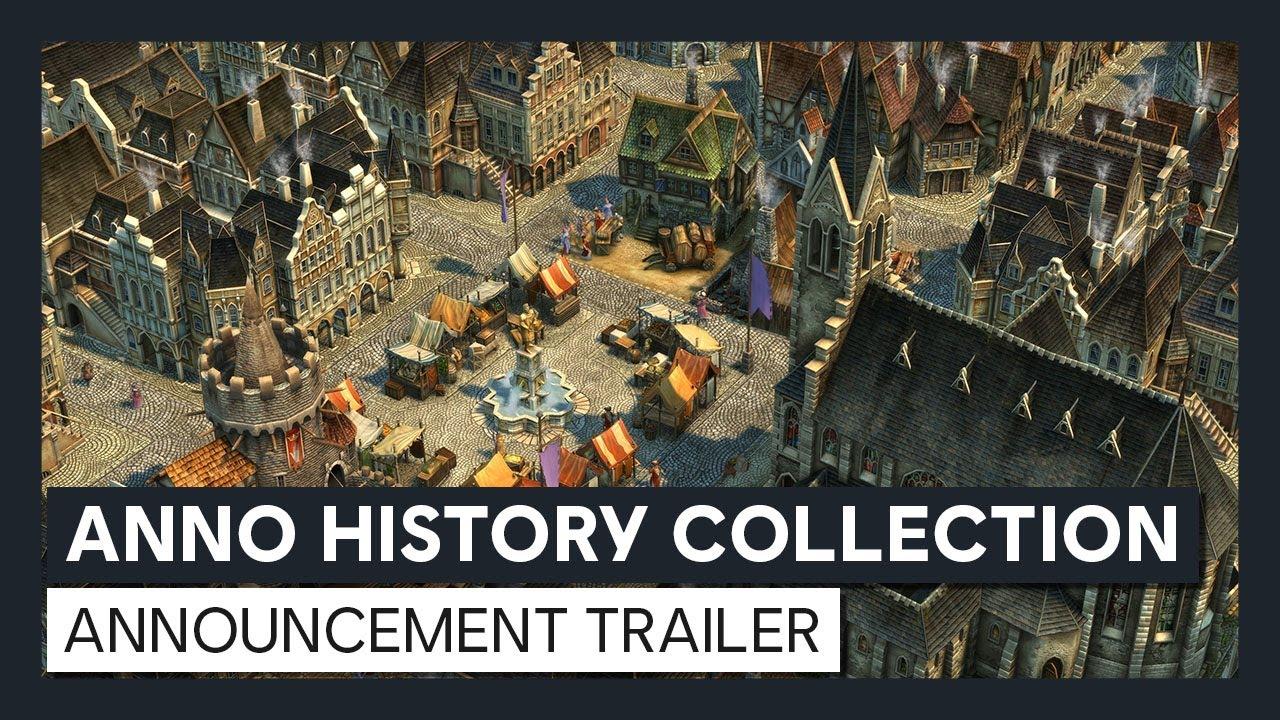 Анонсирующий трейлер игры Anno: History Collection