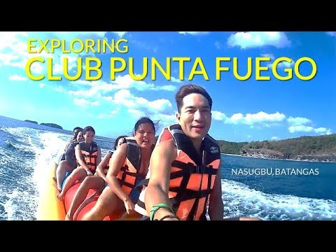 EXPLORING CLUB PUNTA FUEGO BEACH RESORT IN NASUGBU BATANGAS (FULL VLOG)