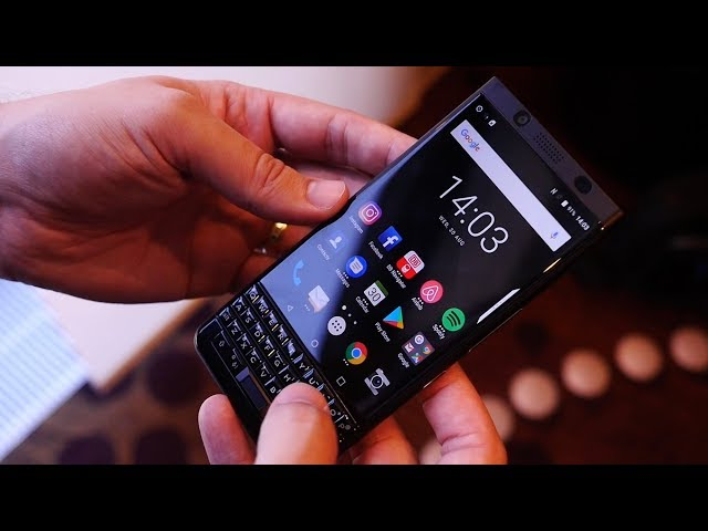 BlackBerry KeyOne black edition: Hands on with the stealthy upg