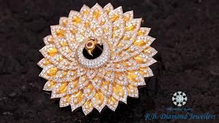 Diamond Brooch Collection - R.B. Diamond Jewellers