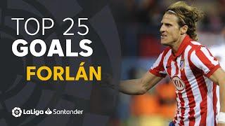 TOP 25 GOALS Diego Forlán en LaLiga Santander