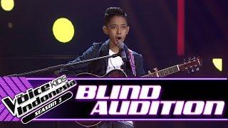 Gambar cover Cello Elby - Kamulah Satu-Satunya   Blind Auditions   The Voice Kids Indonesia Season 3 GTV 2018