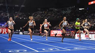Meeting de Paris Indoor 2020 : Cynthia Leduc en 7''25 sur 60 m