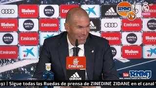 Rueda De Prensa De ZIDANE Post Real Madrid 0-2 Betis Jornada 38 (19/05/19)