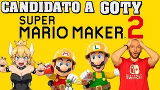 ¡SUPER MARIO MAKER 2 CANDIDATO A GOTY 2019! - Sasel - Nintendo Switch - Direct - Español