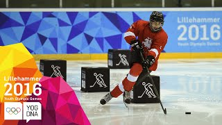 Ice Hockey – Men's Skills Challenge Final – Full Replay | Lillehammer 2016 Youth Olympic Games