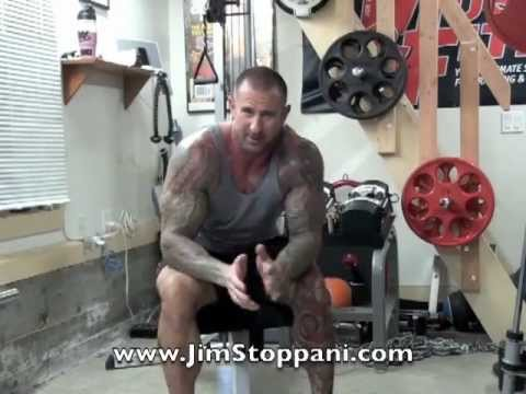 Incline Dumbbell Press Reverse-Grip