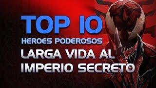 TOP 10 Heroes Poderosos en Larga Vida al Imperio Secreto | Marvel Contest Of Champions