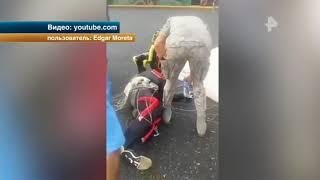 Парашютист разбился в Доминикане во время исполнения трюка