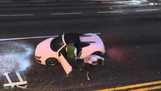 Hai anh em chơi GTA 5 #12 - Đi cướp xe và cái kết