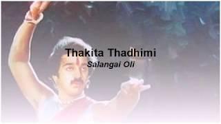 Thakita Thadhimi   Salangai Oli (Karaoke English Lyrics)
