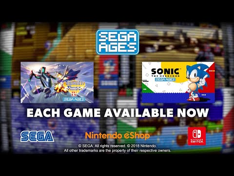 Sega Ages - Sonic The Hedgehog & Thunder Force IV Official Launch Trailer thumbnail