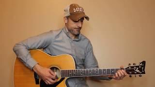 Night Riders Lament - Garth Brooks - Guitar Lesson | Tutorial