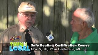 Boater Safety Course November 9-12