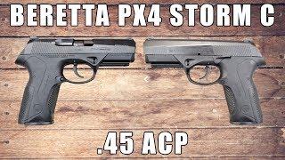 Beretta PX4 Storm C, .45 ACP, (3) 9 Rd Mags - JXF5C26