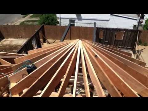 Making a Circular Roof , Queens NY