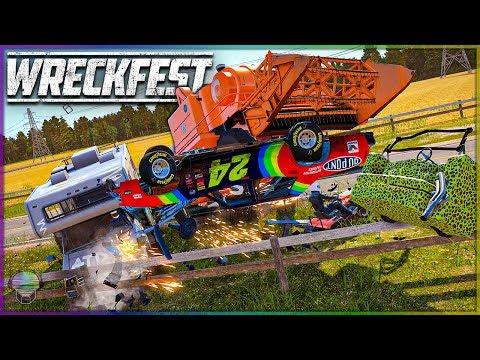 MIXED FARMLAND MAYHEM! | Wreckfest