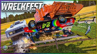 MIXED FARMLAND MAYHEM! | Wreckfest