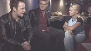 Westlife Interviewed By Kerry Katona