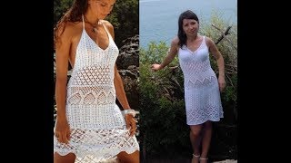 How to crochet summer dress free pattern