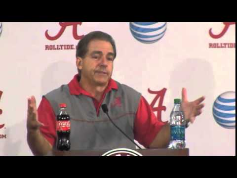 Nick Saban Press Conference Video, Dec. 20, 2014