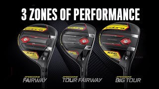 KING SpeedZone Fairway Wood - Black/Yellow-video