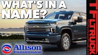Will the 2020 Chevy HD Have a Genuine Allison Transmission?