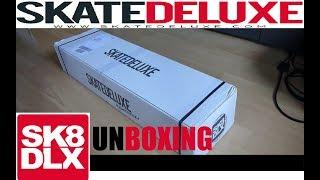UNBOXING - Mein aller erstes Skateboard !! [Von Skatedeluxe]
