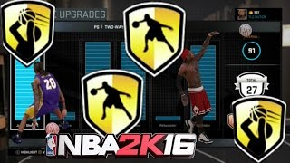 NBA 2K16*HOW TO UNLOCK ALL BADGES*FAST*