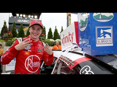 Christopher Bell sets Xfinity Series wins record for a rookie