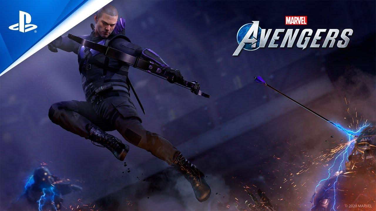 Marvel's Avengers War Table traz detalhes do Beta e revela Hawkeye