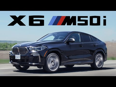 The 2020 BMW X6 M50i is Weird, Expensive, and Fast