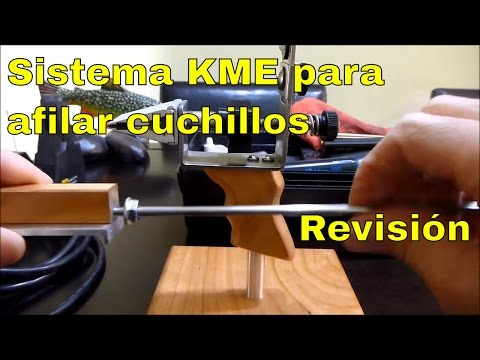 Sistema para afilar cuchillos: KME