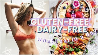 WHAT I EAT IN A DAY (Dairy Free + Gluten Free Meal Prep On A Budget!)