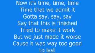 Faber Drive - Our Last Goodbye (Lyrics)