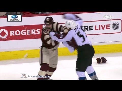 Derek Dorsett vs. Cody McLeod