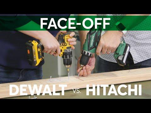 Drilling Face-Off: DeWalt vs. Hitachi | Consumer Reports